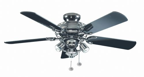 "Fantasia Gemini Combi 42"" Pewter Ceiling Fan +  Light 111849"